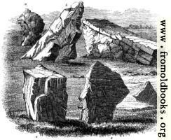 34.—Stones at Stanton Drew
