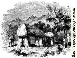 40.—Cromlech at Plas Newydd, Anglesey