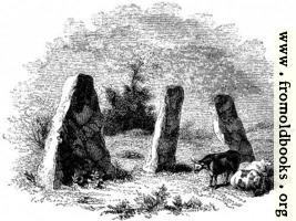 43.—Harold's Stones, Trelech, Monmouthshire