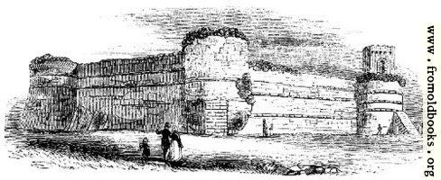 108.—Walls, Pevensey.