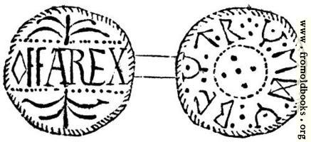 234.—Silver Penny of Offa, King of Mercia.