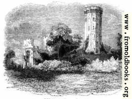 416.—Warwick Castle, Guy's Tower