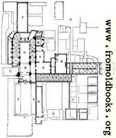 524.—Plan of the Priory of St. Bartholomew.