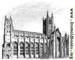 565.—Canterbury Cathedral, South Side.