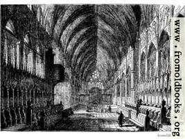 577.—Interior of Lincoln Cathedral.