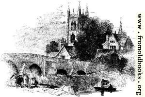 819.—Bridge at Evesham.