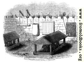 868.—Machines used for the Defence of Stone Walls against the action of Battering rams.