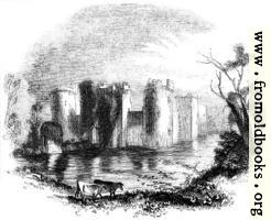 925.—Bodiam Castle, Sussex.