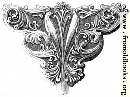 933.—Early English Foliage Bracket.