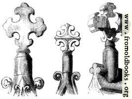 934.—Gable Crosses.