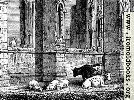 1023.—Howden Church (detail for use as computer desktop background image)