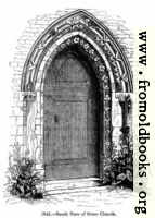 1046.—Stone Church, south door.