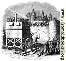 1274.—Moveable Towers of Archers, Cannon, etc.