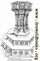 1313.—Font in East Dereham Church, Norfolk