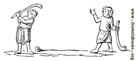 1384.—Golf, or Bandy-ball.