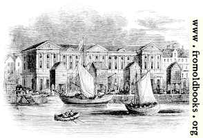 2088.—The Custom-House, London, as it appeared before the Great Fire. (From a Print by Hollar.)
