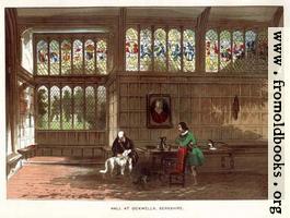 Hall at Ockwell's, Berkshire.