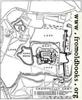 Plan of Caerphilly Castle