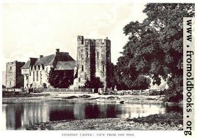 Stokesay Castle—The View from the Pool