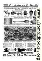 Old Advert: Christmas Gift Charms and Brooches
