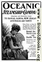 Old Advert: Oceanic Steamship Company