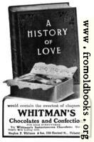 Old Advert: Whitman's Chocolates