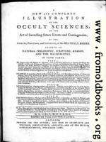 Title Page, Sibly Astrology Book
