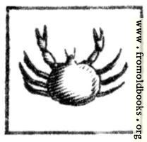 Cancer (the Crab)