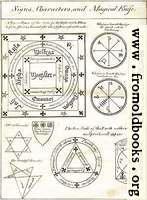 Magical Circle, Seals and Characters