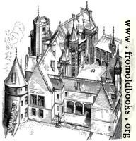 7.—House of Jacques Cœur at Bourges (Begun 1443)