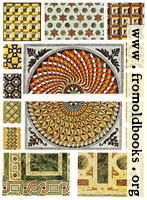 38. Byzantine marble floor-mosaics.