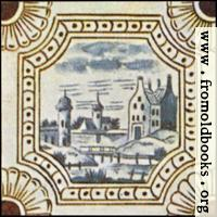 Dutch Delft ceramic tile 5