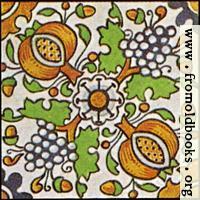 Dutch Delft ceramic tile 27