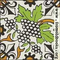 Dutch Delft ceramic tile 28, SVG version