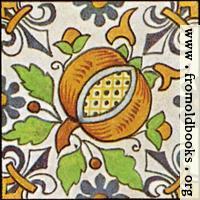 Dutch Delft ceramic tile 29