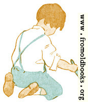 Boy with Trowel