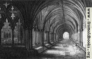 Plate XXV. The Cloisters, Norwich Cathedral.