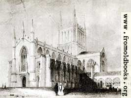 Plate XXVII. Hereford Cathedral.