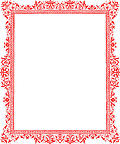 Red border from Page 27, from The Art of Illuminating As Practised in Europe from the Earliest Times (1860)