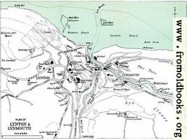 Plan of Lynton & Lynmouth [1910]