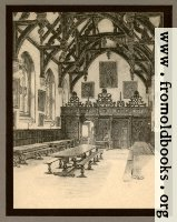 XXIV.—Wadham College, The Hall Interior