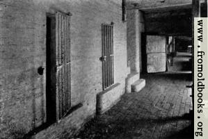 Cells at town hall, Boston, England, where the Pilgrim Fathers were confined