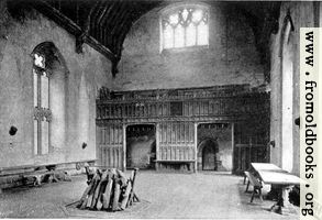 Baronial hall, Penshurst Place