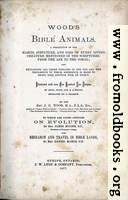 Bible Animals Title Page
