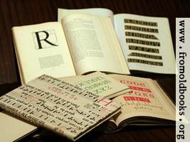 Alphabet Book Pile