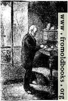 Victor Hugo at his writing desk