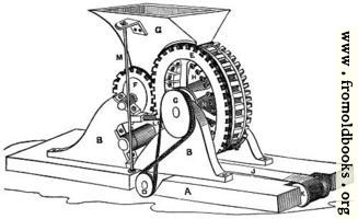 J. Z. A. Wagner's Brick-Moulding Machine