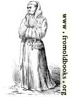 Monk's Walking Dress of the Middle Ages