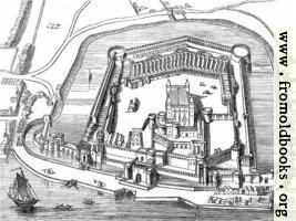 The Tower Of London Castle Diagram (wallpaper version)