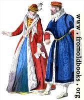 Sixteenth-century noble couple